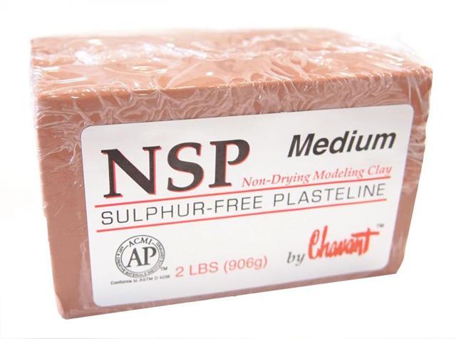 美國 Chavant NSP 雕塑土 中硬度Medium